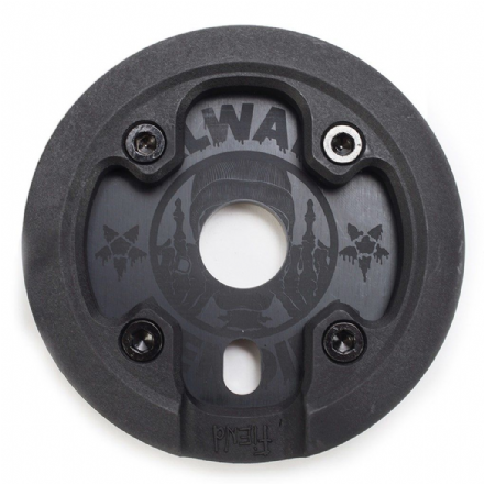 Fiend Reynolds Sprocket With Guard - Black 25 Tooth